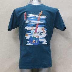和風テレキャスTシャツ